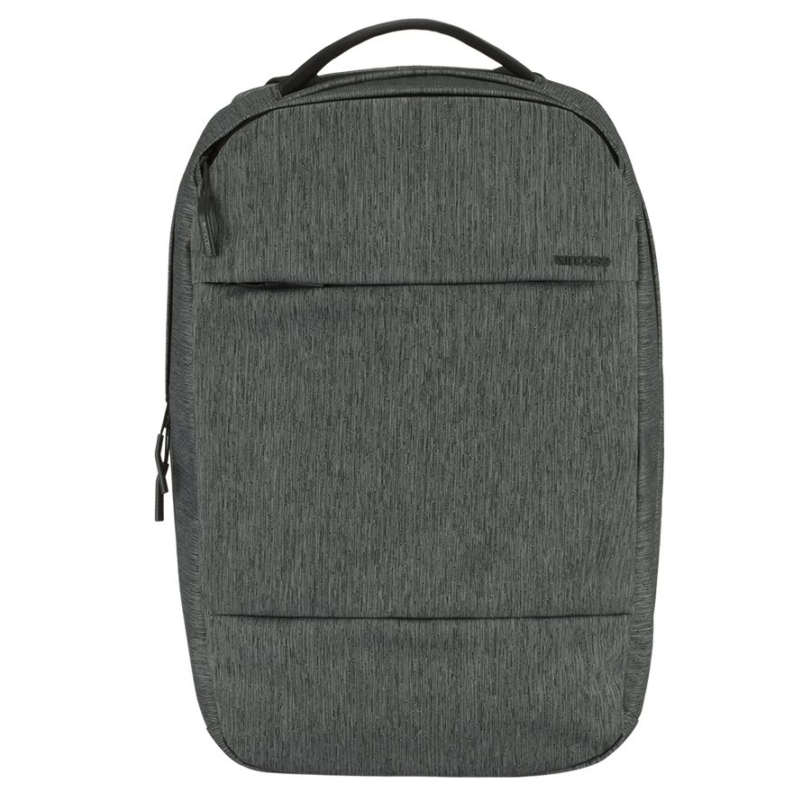 Incipio INCASE CITY COLLECTION COMPACT BACKPACK HEATHER BLACK GUNMETAL GRAY