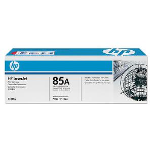 HP 85A Original Toner Cartridge - Black - Laser - Standard Yield - 1600 Pages - 1 / Pack