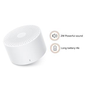 Sistema di altoparlanti MI Compact Portatili Bluetooth - Bianco - 200 Hz a 18 kHz - Batteria ricaricabile - 1 Confezione