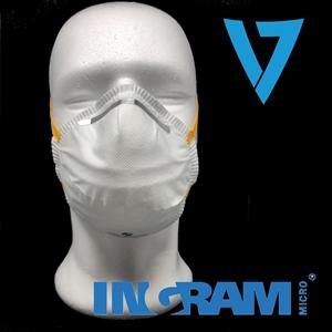 Maschera di Protezione FFP2 CUP MASK- Ceritificata CE - Colore BIANCO - ( La confezione include 20pcs di mascherine) - Dop
