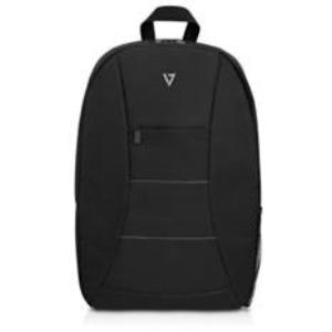 """V7 Zaino Essential 15,6"""". Colore principale del prodotto: Nero, Materiali: Poliestere, Colorazione: Monocromatico. Larghez"""