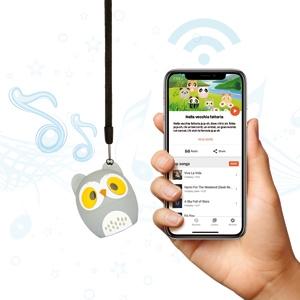 Hamlet Altoparlante  Bluetooth Music Pet  ricaricabile - soggetto Ufo il gufino