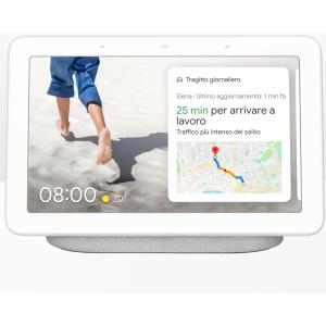 Google Nest Hub, l'Assistente Google per la casa con display Grigio chiaro