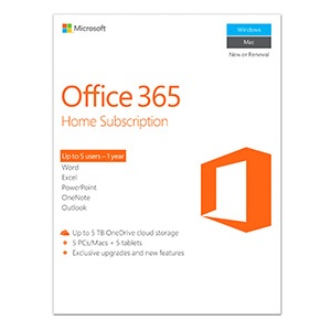 MICROSOFT 365 FAMILY ESD 1 YEAR SUBSCRIPTION ONLINE DOWNLOAD