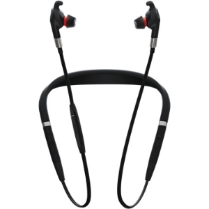 JABRA EVOLVE 75E & LINK 370 MS IN EAR NOISE CANCELLING BUDS