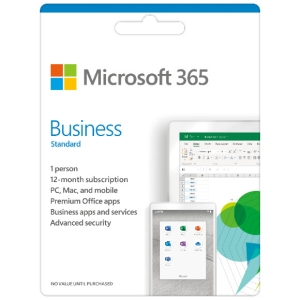MICROSOFT 365 BUS STD ESD 1 YEAR SUBSCRIPTION ONLINE DOWNLOAD