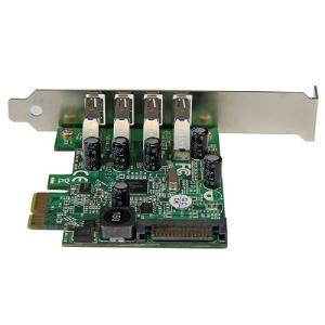 4 PORT PCI EXPRESS PCIE SUPERSPEED USB 3.0 CONTROLLER CARD ADAPTER WITH UASP - SATA POWER - USB 3 PCIE CARD - USB 3.0 PCI-