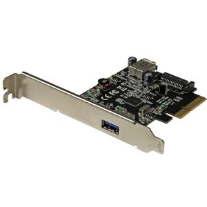 2 PORT USB 3.1 (10GBPS) CARD - USB-A 1X EXTERNAL 1X INTERNAL - PCIE USB 3.1 CARD WITH TYPE-A - PCI EXPRESS - SUPPORTS UASP
