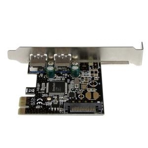2 PORT PCI EXPRESS (PCIE) SUPERSPEED USB 3.0 CONTROLLER CARD W/ SATA POWER - PCIE USB 3.0 CARD - DUAL PORT PCI EXPRESS USB