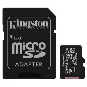 256GB MICROSDXC CANVAS SELECT 100R A1 C10 CARD + SD ADAPTER