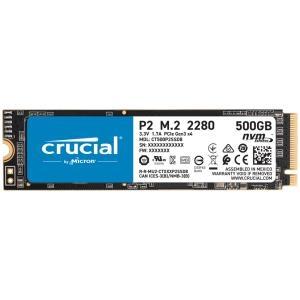 Crucial® P2 500GB 3D NAND NVMe# PCIe® M.2 SSD