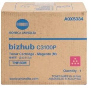 Toner magenta para Bizhub C3100P, rendimiento de 6,000 impresiones al 5% de cobertura
