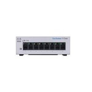 Switch Cisco CBS110 No administrable con 8 puertos 10/100/1000, el smartnet se adquiere por separado