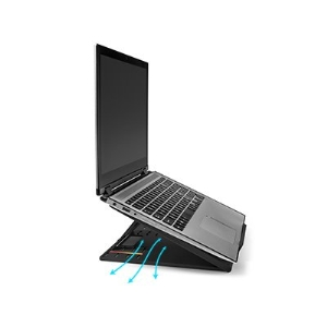 "Elevador ergonómico ajustable SmartFit® Easy Riser ™ Go para computadoras portátiles de hasta 17 """