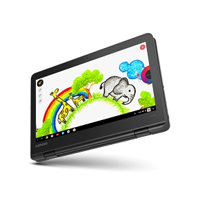"""Lenovo 300e Chrome 2a Generación, 11"""" HD IPS Touch, Intel Celeron N4000, 4GB, 32GB, 3 Celdas, Active Pen, INTEL 9560 2X2AC"""