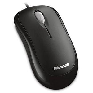 Mouse Microsoft - USB - Óptico - 3 Botón(es) - Negro - Cable - 800 dpi - Rueda de desplazamiento - Simétrico