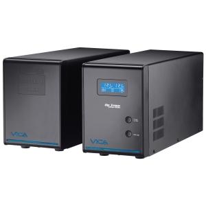 No Break VICA Up team HA 3000 Capacidad de Voltaje 3000VA / 1800 Watts. 25A máximo. 4 tomas de corriente con respaldo de b