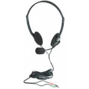AUDIFONOS DIADEMA AJUSTABLE MICROFONO CONTROL DE VOLUMEN 3.5MM