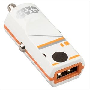 CARGADOR USB PARA AUTO STAR WARS BB8