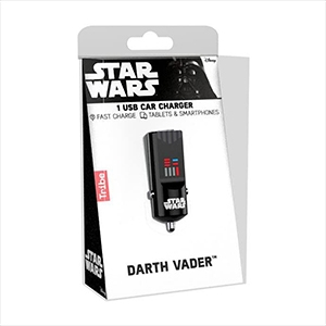 CARGADOR USB PARA AUTO STAR WARS DARTH VADER