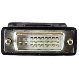 Adaptador Convertidor DVI-I a VGA - DVI-I Macho - HD15 Hembra - Negro StarTech.com DVIVGAMFBK