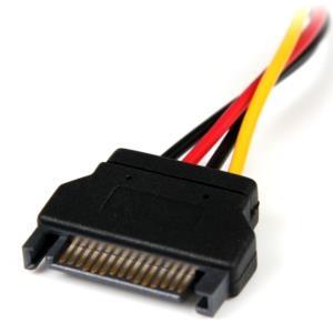 Cable de Alimentación de 15cm Adaptador Molex LP4 a SATA - Hembra a Macho StarTech.com LP4SATAFM6IN