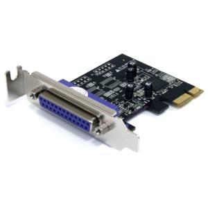 Adaptador Tarjeta PCI-Express Perfil Bajo Paralelo de 1 Puerto DB25 IEEE1284 -  SPP EPP ECP StarTech.com PEX1PLP