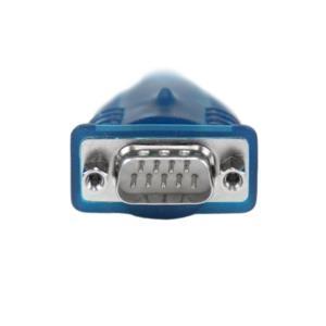 Cable Adaptador USB a Serie RS232 de 1 Puerto Serial DB9 - Macho a Macho StarTech.com ICUSB232V2