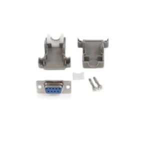 Conector D-SUB DB9 Serial Hembra Ensamblado con Carcasa Plástica  StarTech.com C9PSF