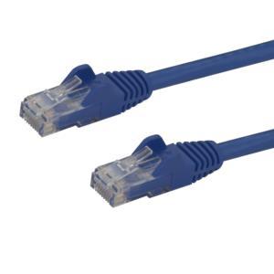 Cable de Red de 1.8m Azul Cat6 UTP Ethernet Gigabit RJ45 sin Enganches StarTech.com N6PATCH6BL