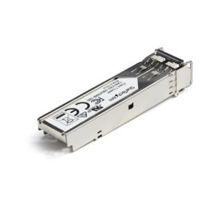 SFP (mini-GBIC) StarTech.com - Para Redes Ópticas, Redes de datos - Fibra Óptica - Multi-modo - Gigabit Ethernet - 1000Bas