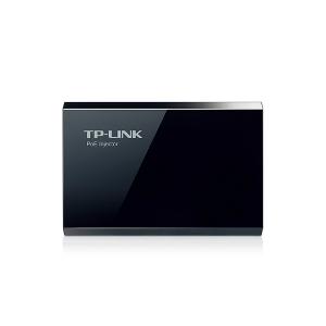 Inyector PoE TP-link, TL-POE150S, cumple con IEEE 802.3af, 2 Puertos RJ45 Gigabit, 15.4 W, Plug and play.