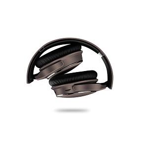 Auriculares Naceb Fornax NA-0308 Con cable/Inalámbrico Sobre la cabeza Estéreo - Marrón, Negro - Binaural - Circumaural -