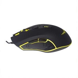 Ratón de juego Naceb Horus NA-0937 - USB - 4 Botón(es) - Negro - Cable - 3200 dpi