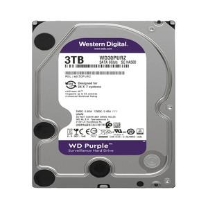 DD INTERNO WD PURPLE 3.5 3TB SA TA3 6GB/S 64MB 24X7 PARA DVR Y NVR