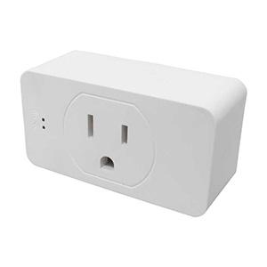 Conector individual Wi-Fi TechZone : Programable, Temporizador y Modo Reposo. Controlado por aplicación móvil Smart Life o