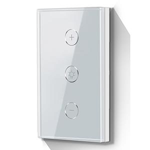 Interruptor de Luz atenuable Wi-Fi TechZone, control por toque, aplicación móvil Smart Life o por voz, compatible con Amaz
