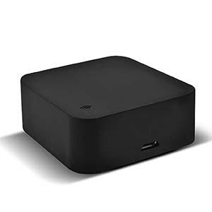 Control Remoto Infrarrojo Wi-Fi TechZone: Soporta hasta 99 dispositivos, material ABS, tamaño 50x50x19 mm. Control por apl