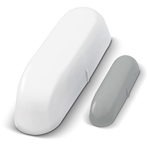Sensor de puerta y/o ventana Wi-Fi TechZone: Notifica al abrir y cerrar, distancia max de WiFi 45m, controlado por aplicac
