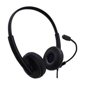 DIADEMA ALÁMBRICA TECHZONE: Con sonido estéreo, conexión alambrica a través de su puerto USB 2.0, control de volumen en li