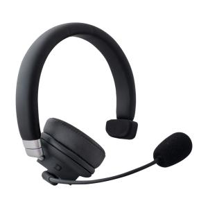 DIADEMA RECARGABLE BLUETOOTH  CON MICRÓFONO Y CANCELACIÓN DE RUIDO TECHZONE: Con auricular mono-stereo, Bluetooth 5.0 y al