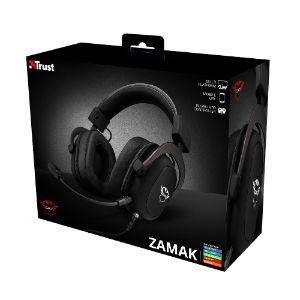 Auriculares de gaming Trust Gaming Zamak 414 Cableado Sobre la cabeza Estéreo - Binaural - Circumaural - 64Ohm - 20Hz a 20