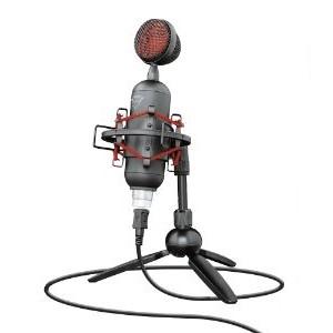 Micrófono Trust Gaming Buzz - Cableado - Condensador - 1.80m - 30Hz a 18MHz - 36dB - Cardioid - De Escritorio, Montura ant