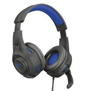 Auriculares Trust Gaming Ravu 307B Cableado Sobre la cabeza Estéreo - Azul - Binaural - Circumaural - 32Ohm - 20Hz a 20kHz