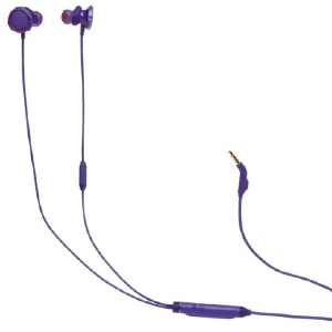Auricular gaming JBL Quantum 50 Cableado Auricular Estéreo - Violeta - Binaural - Intrauditivo - 16Ohm - 20Hz a 20kHz