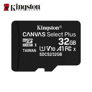 microSDHC Kingston Canvas Select Plus - 32GB - Class 10/UHS-I (U1) - 1 Paquete(s) - 100MB/s Leer
