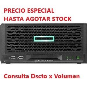 Servidor HPE ProLiant MicroServer Gen10 Plus - 1 x Intel Xeon E-2224 3.40GHz - 16GB RAM - 1TB HDD - Serie ATA/600 Controla