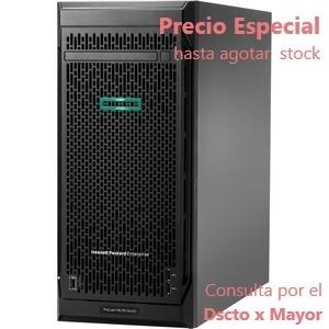 Servidor HPE ProLiant ML110 G10 - 1 x Intel Xeon Bronze 3204 1.90GHz - 16GB RAM - 4TB HDD - Serie ATA/600 Controlador - 4.