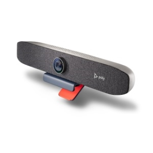 Poly Studio P15, Personal Video Bar, Open Ecosystem, 4K Camera, Integrated Speaker, 3 x Mic; (1) USB 3.0 Type C to Type C,