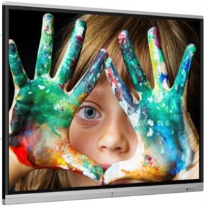 """Panel interactivo táctil de 20 toques de 65"""" con Panel 4K UHD con resolución de 3,840 x 2,160, panel DLED de 350 CD con 17"""